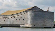 Réplica de tamaño natural del Arca de Noé zarpará hacia Israel, afirmó su constructor