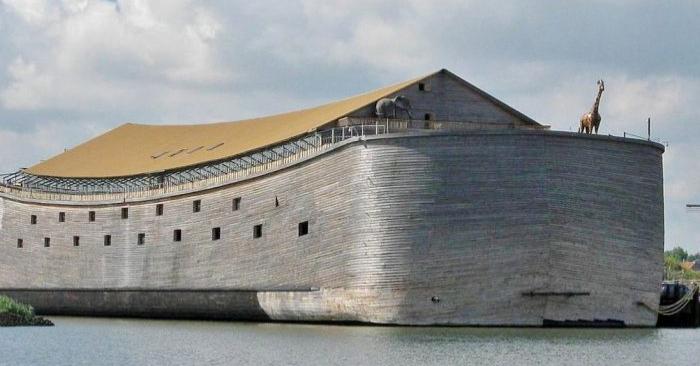 Un carpintero holandés que construyó una réplica del Arca de Noé dijo que iba a navegar hasta Israel. (Creative Commons Attribution-Share Alike 3.0 Unported license)