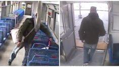 Dejó a su bebé solo en el vagón para salir a fumar pero el tren arrancó de golpe y se fue