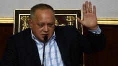 Diosdado Cabello, en el punto de mira por narcotráfico de Venezuela