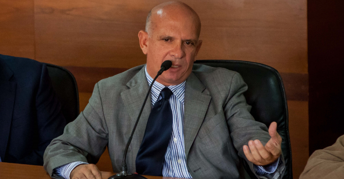 En la imagen, el exjefe de contrainteligencia militar de Venezuela Hugo Carvajal. EFE/Archivo