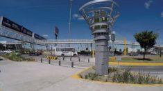Joven mexicano creó una torre con microalgas que filtra el aire como lo harían 360 árboles