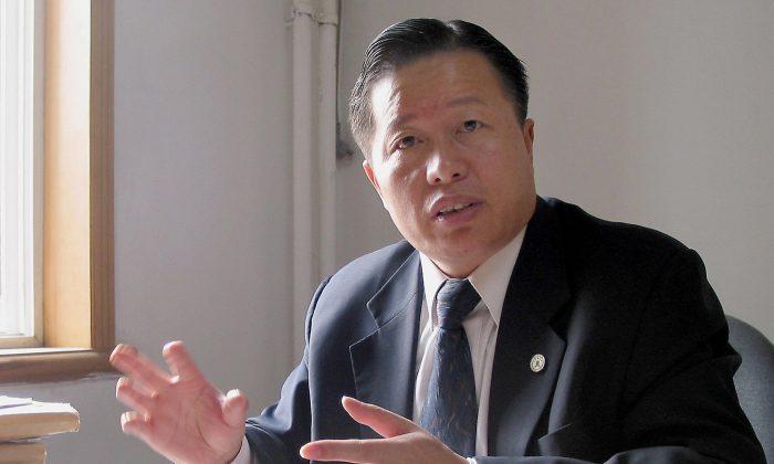 El abogado de derechos humanos Gao Zhisheng en una foto de archivo. (Verna Yu/AFP/Getty Images)