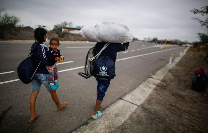 El número de venezolanos que han salido de su país se eleva a 4,4 millones (Juan VITA/AFP/Getty Images)