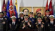 Estados Unidos sanciona a otros cuatro jefes militares del régimen de Maduro