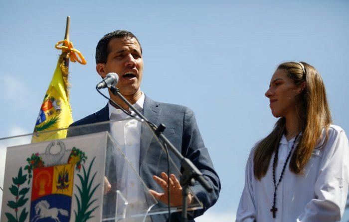 Presidente de Venezuela Juan Guaidó. (Marco Bello/Getty Images)