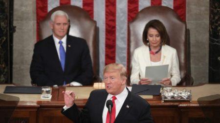 Trump promovió la unidad, condenó al socialismo y apoyó a Guaidó en su esperado discurso sobre el Estado de la Unión