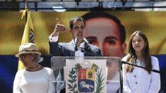 Guaidó anuncia que la ayuda humanitaria entrará desde el 23 de febrero a Venezuela
