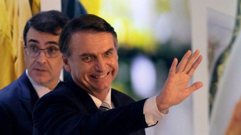 Presidente de Brasil, Jair Bolsonaro. (SERGIO LIMA/AFP/Getty Images)