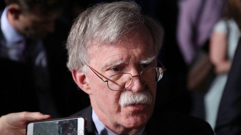 John Bolton, asesor de Seguridad Nacional de la Casa Blanca. (Joe Raedle/Getty Images)