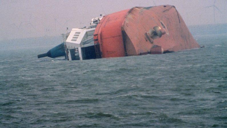 Imagen de archivo de barco hundido. (Hulton Archive/Getty Images)