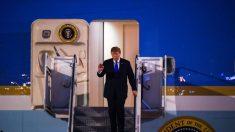 Trump llega a Vietnam para su segunda cumbre con Kim