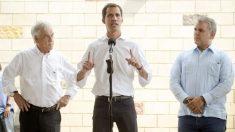 """Guaidó plantea a la comunidad internacional que dejen abiertas """"todas las opciones"""" para liberar a Venezuela"""