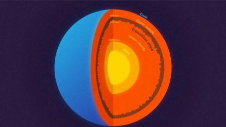 Descubren montañas a 660 km de profundidad gracias a uno de los terremotos más grandes de la historia