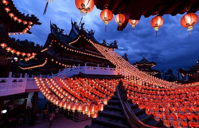 Festival de la Linterna (MANAN VATSYAYANA/AFP/Getty Images)