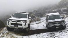 """Cae nieve """"por primera vez"""" en un parque estatal de Hawái"""