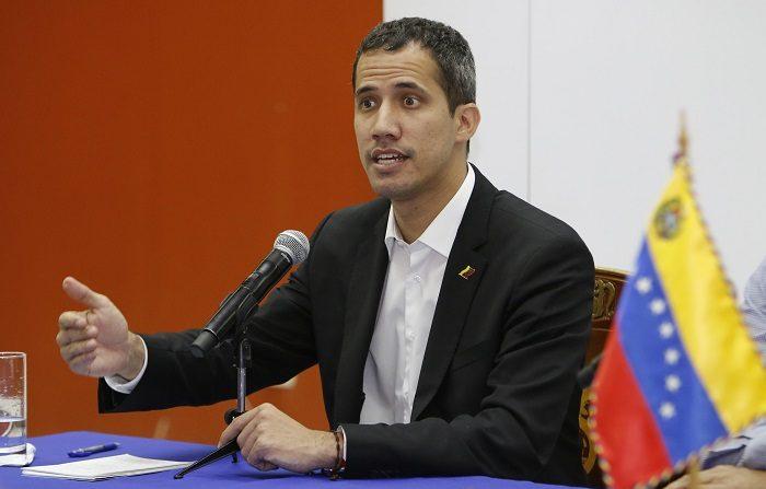 Juan Guaidó, presidente encargado de Venezuela. EFE/Wladimir Torres