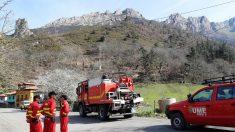 Casi 40 incendios forestales continúan activos en Asturias