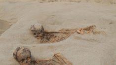 Hallan restos de cientos de niños y llamas por un sacrificio del S.XV en Perú