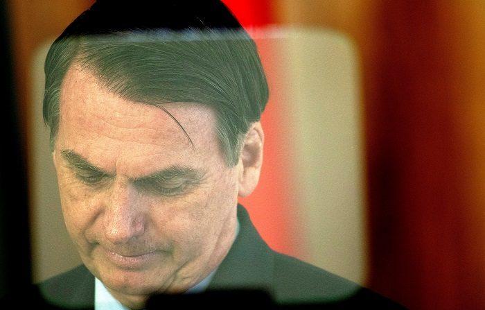 Bolsonaro viaja rumbo a Washington para su primera visita oficial. EFE/Joédson Alves