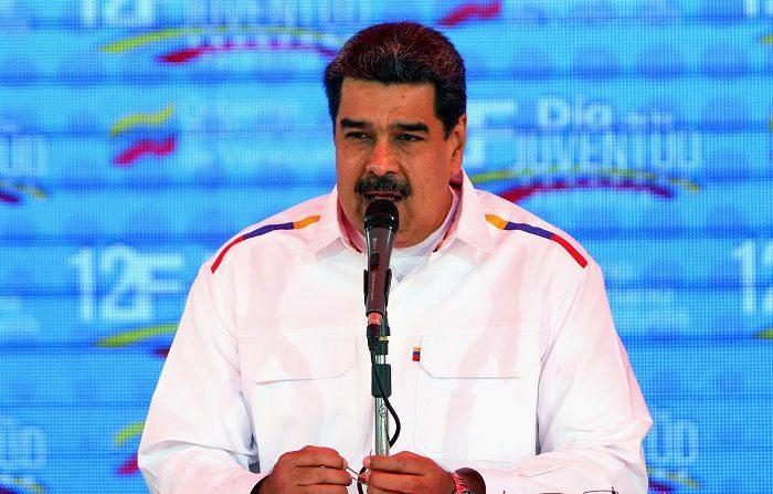 Foto de archivo del dictador socialista Nicolás Maduro. (EFE/ Cristian Hernández)