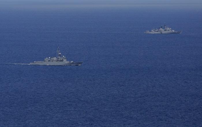 La Marina de Ecuador vigila los movimientos de una flota de barcos de bandera china que se encuentran cerca de las Islas Galápagos, confirmaron a Efe fuentes oficiales. EFE/RICARDO MALDONADO ROZO