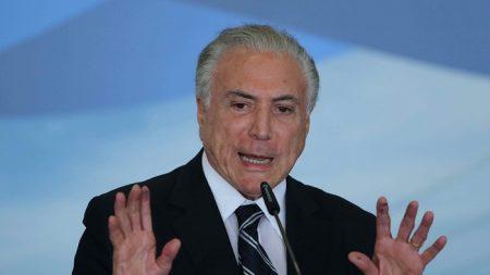 Arrestan al expresidente brasileño Michel Temer en caso de sobornos vinculado al Lavo Jato