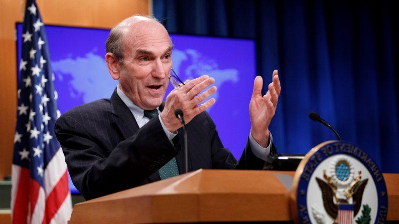 El enviado especial de Estados Unidos para Venezuela, Elliott Abrams. EFE