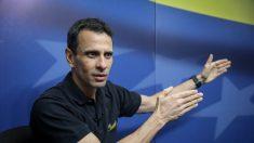 Henrique Capriles: el tiempo no juega en contra de Guaidó, juega contra Venezuela