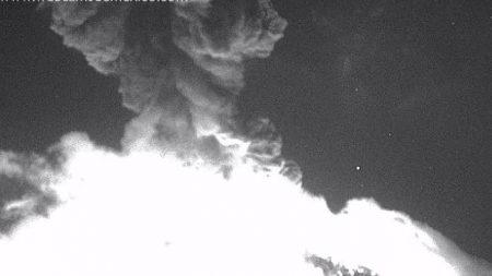 Violenta explosión del volcán Popocatépetl estremece desde Puebla a Morelos