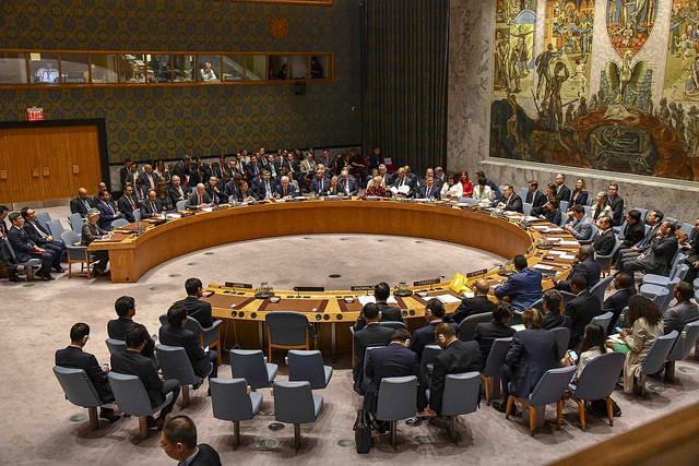 Consejo de Seguridad de las Naciones Unidas. Foto de Flickr.