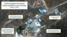 Pionyang reconstruye una base de misiles en Corea del Norte