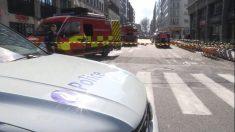 Falsa alerta de bomba obliga a cortar calles en Bruselas junto a la CE