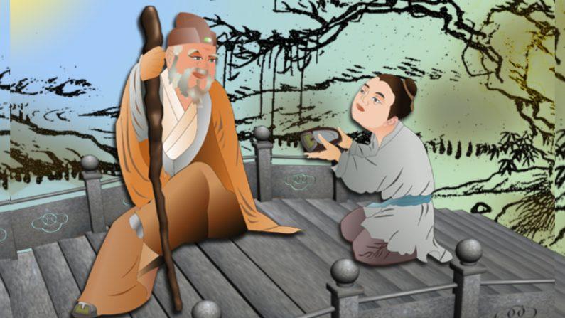 Zhang Liang, uno de los tres héroes de la temprana dinastía Han, era conocido por su tolerancia y por mostrar respeto hacia los ancianos. (Crédito: Catherine Chang/La Gran Época)