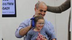 Papá le cuenta al mundo cómo es vivir con una hija con síndrome de Down y su efecto es viral