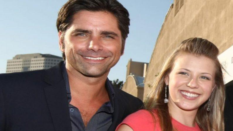 El actor John Stamos y la actriz Jodi Sweetin. (Crédito: Alberto E. Rodriguez/Getty Images)