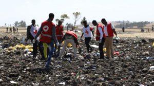 Mueren 157 personas de 35 nacionalidades al estrellarse un avión en Etiopía