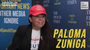 Las caravanas son una invasión a EE.UU. y a México, dice fundadora de 'Paloma for Trump'