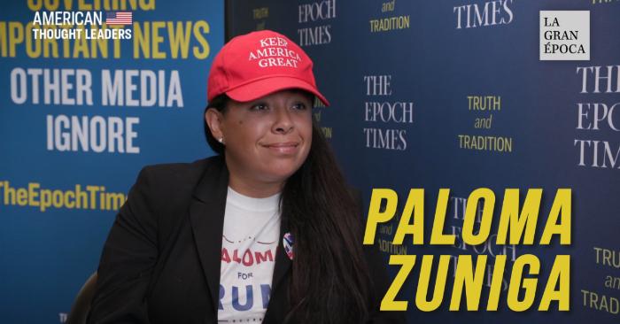 Paloma Zuniga, fundadora de 'Paloma for Trump' explicó en una entrevista a La Gran Época que las caravanas de migrantes centroamericanos que llegan hasta México para cruzar a Estados Unidos no solo son una invasión para EE. UU. sino también a México.