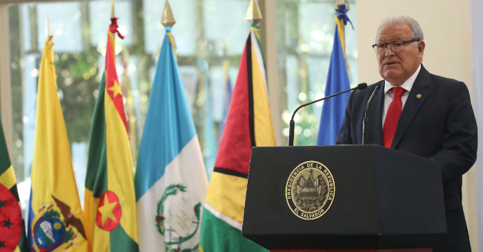 El Supremo salvadoreño admite el amparo contra el Gobierno por la ruptura del TLC con Taiwán. En la foto el presidente salvadoreño, Salvador Sánchez Cerén. EFE/Archivo