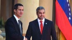 """Presidente de Paraguay recibe a Guaidó afirmando que es la """"esperanza de todo un pueblo"""""""