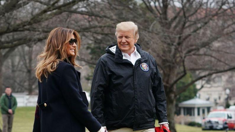No hay doble de Melania, solo existe en las Noticias Falsas, dice Trump