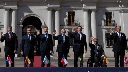 """Líderes sudamericanos se reúnen en Chile para la creación de Prosur, """"sin ideologías"""""""