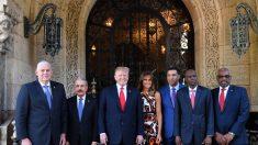 Venezuela está en la agenda de la reunión de Trump con líderes del Caribe