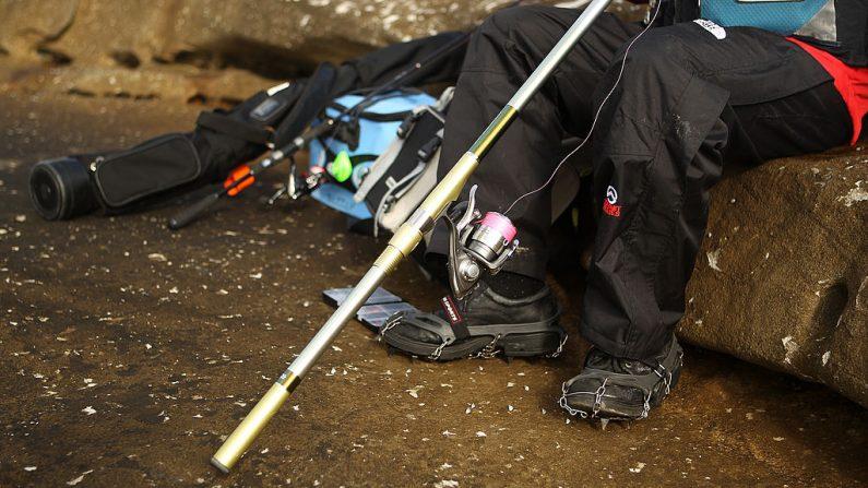Foto de archivo del equipo de un pescador. (Foto de Mark Kolbe/Getty Images)