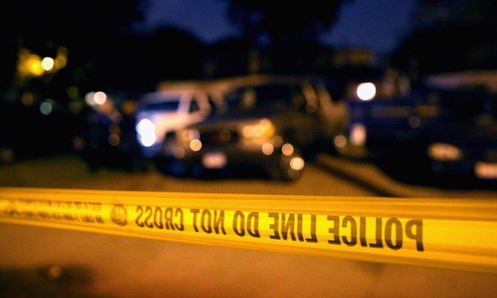 Foto de archivo de una cinta policial (Scott Olson/Getty Images)
