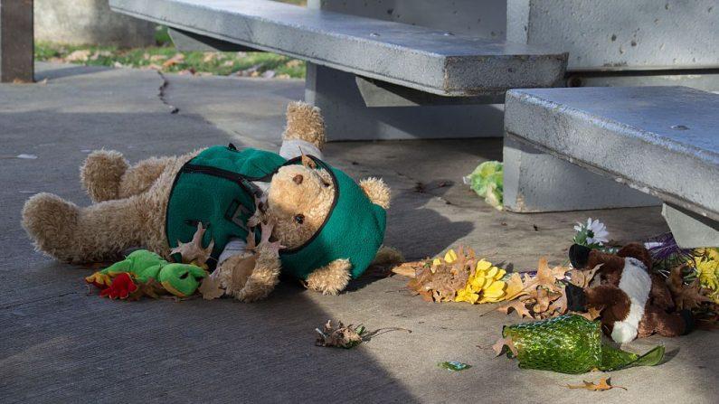 Foto ilustrativa de un osito de peluche. (JORDAN GONZALEZ/AFP/Getty Images)