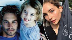 Hija de Paul Walker florece como modelo y continúa compartiendo la pasión de su padre