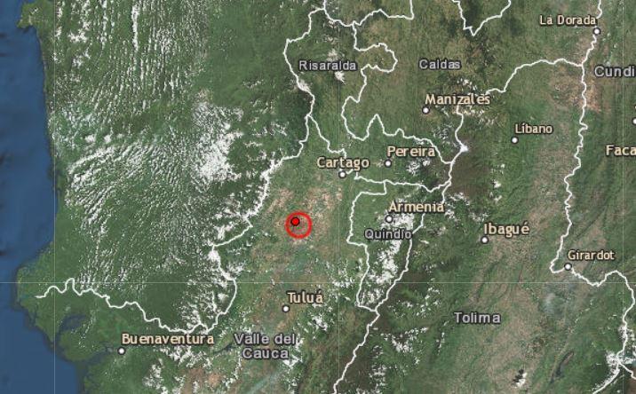 Terremoto en Colombi el 23 de marzo de 2019. Creative Commons - Emsc-Csem)