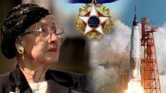 Esta mujer clave para la llegada del hombre a la Luna cumple 100 años y logra sitio de honor en la NASA